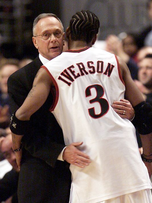 """The 1996 No. 1 NBA Draft Pick from the Big East - Georgetown, Allen Iverson Retires October 30, 2013:  """"He is the best player his size to ever play the game,"""" Coach Larry Brown, who coached Iverson from 1997 to 2003, said of the 6-0, 165-pound guard. """"And maybe the toughest, maybe as good of an athlete that has ever played our game, and as good of an competitor. I hope everyone understands that."""""""
