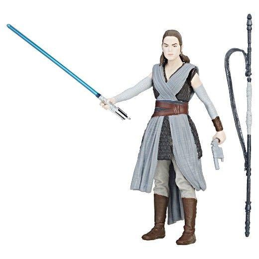 Star Wars Rey (Jedi Training) Force Link Action Figure : Target
