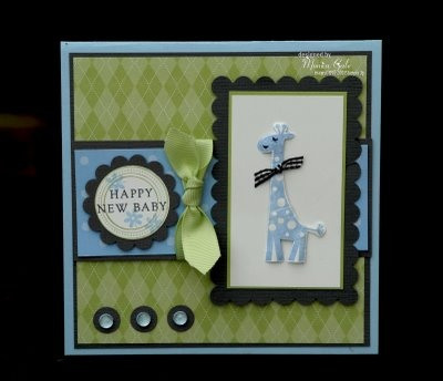 STAMPIN UP UK INDEPENDENT DEMONSTRATOR MONICA GALE: Joshua's card