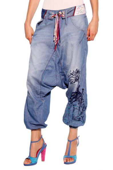 Jeans Desigual Cinturón Turko - Sarouel -Women Fashion