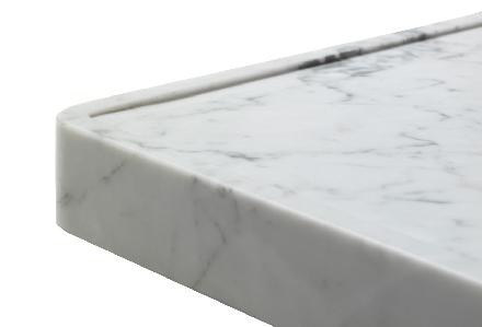 Countertop Edge Detail Options : edge...used in the right space...otherwise collects dirt Tile detail ...