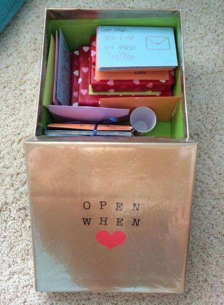 50 Trendy Ideas For Birthday Presents For Boyfriend Men Open When Letters
