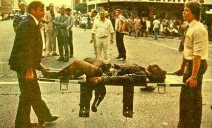 Foto: Simon Riekert Kerkstr bom 20 Mei 1983