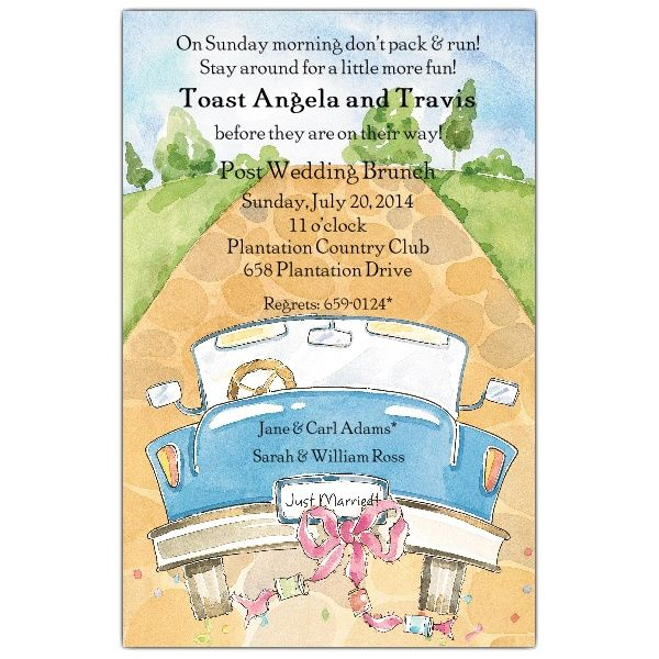 Planning A Wedding Brunch Party Check Out These Invitation Wording Ideas From PaperStyle Shop For The Invites Too