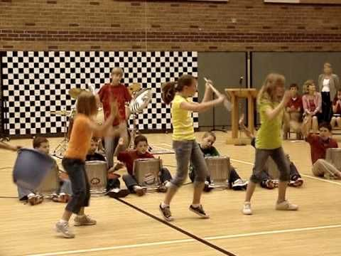 2010 Talent Show Stomp Routine.wmv I want to do this with my students!!