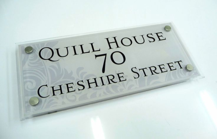 Modern house signs   Not all that's Grey is Dull  Gray is conservative, elegant and formal the perfect description of these #art decorative house signs in our colour collection 'Grey' and 'Slate'  NOT You're normal boring, drab and depressing coloured house signs! These House Signs are full of Grace... http://www.de-signage.com/DesignageArtHouseSigns.php