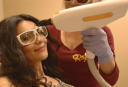 co2 laser treatment