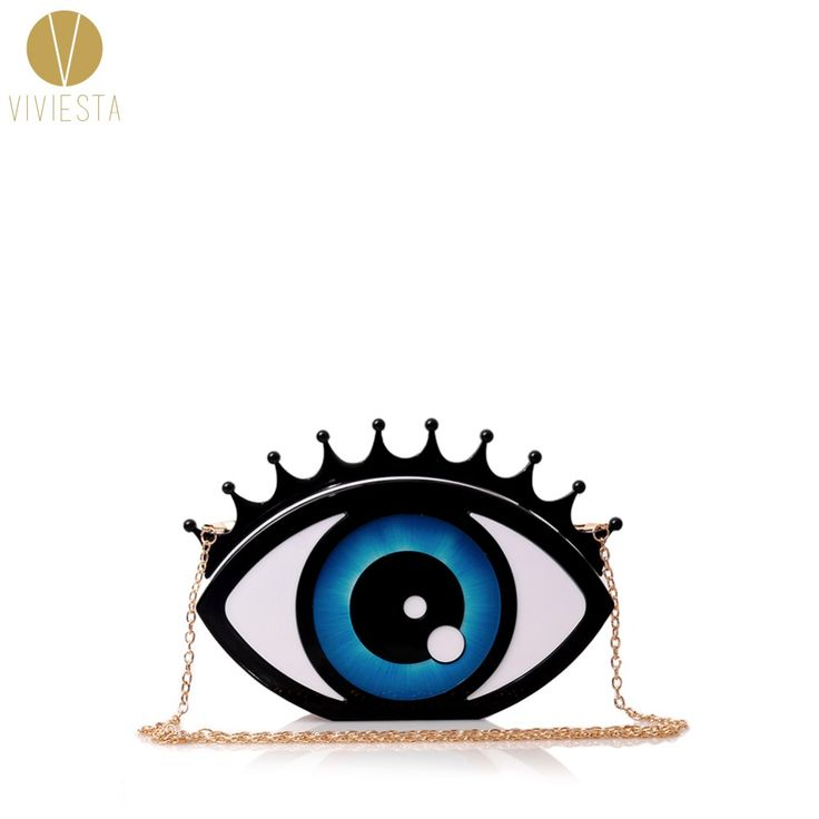 Cheap clutch designer, Buy Quality designer clutch directly from China fashion clutch Suppliers: EVIL EYE HARD CASE CLUTCH - Women's Halloween Rock Punk Fashion Stylish Unique Pop Art Design Novelty Party Statement Bag Purse