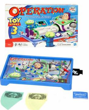 walmart.  toys | Target & Walmart: Toy Story 3 Operation Game for $1