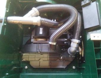 Bosch PTS10 - Geänderte Absaugung nach Schorre PTS10,Absaugung verbessern
