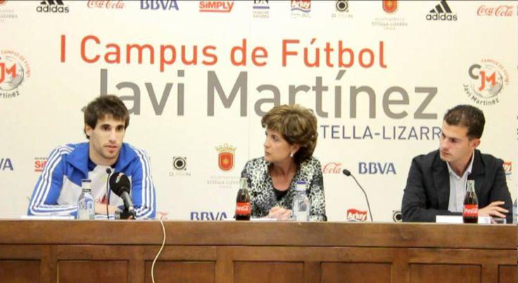 cool  #2012 #athletic #Bilbao #Campus #de #edición #española #Estella #i #javi #Martinez #prensa #presentación #rueda #selección Rueda de prensa presentación I Edición Campus Javi Martinez 2012 http://www.pagesoccer.com/rueda-de-prensa-presentacion-i-edicion-campus-javi-martinez-2012/