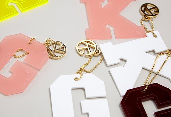 Alphabet Bag Charms