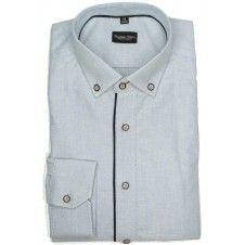 Koszula z tkaniny Oxford w kolorze niebieskim