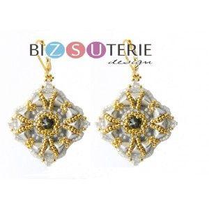 June earrings - ins. dl. beading pattern