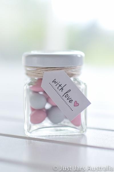 50ml square jar