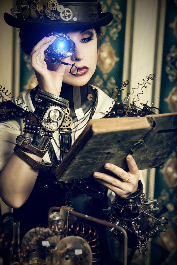 Steampunk IIby Luria-XXII---> This one just blows me away! :o