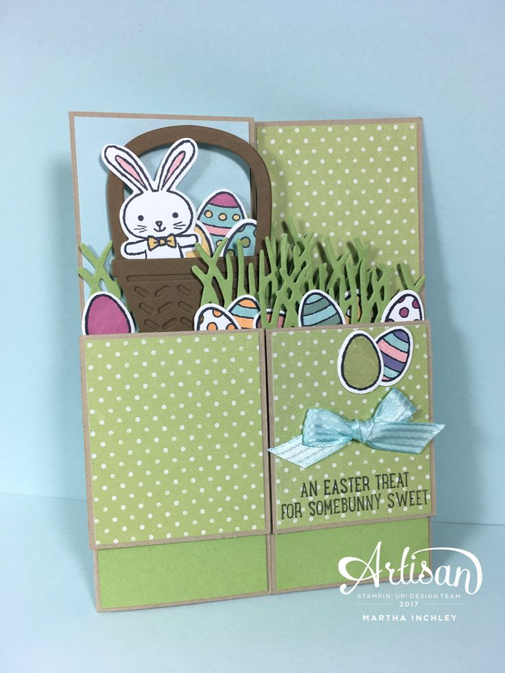 Send your SOMEBUNNY SWEET an Easter treat with the Basket Bunch Bundle by Stampin' Up!