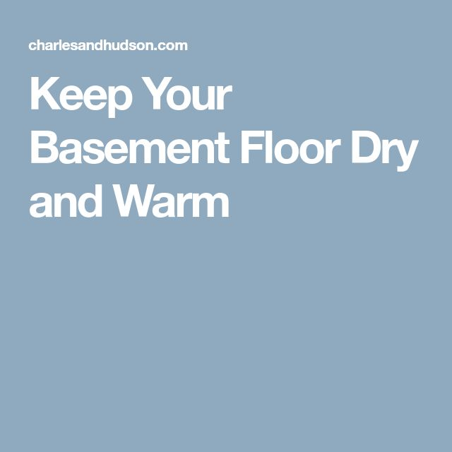 Basement Subfloor Options For Dry Warm Floors: Basement Finishing, Basement Flooring Options
