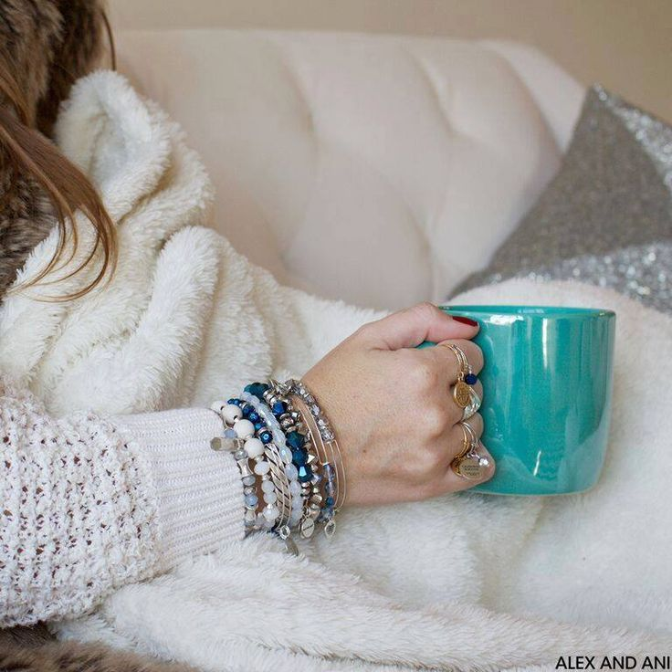 Cozy with a side of coffee..... winter layering.  Heat up your winter style with Alex and Ani.   (Burlington, Montreal and Ithaca locations)