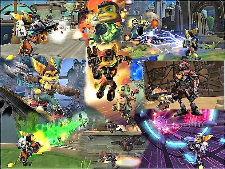 Ratchet And Clank Wallpaper Deluxe Retro Gaming Ratchet Far