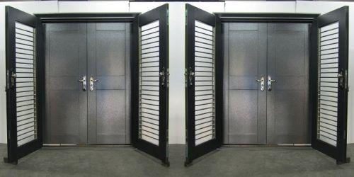 Galvanised Steel Security Doors