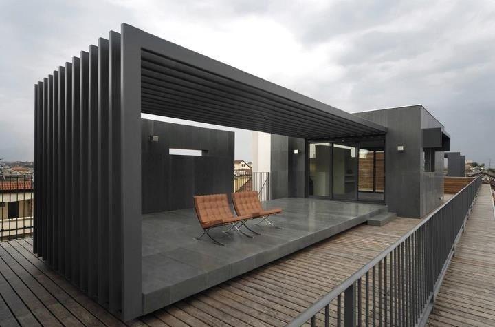pergola ultra modern style love it architecture. Black Bedroom Furniture Sets. Home Design Ideas