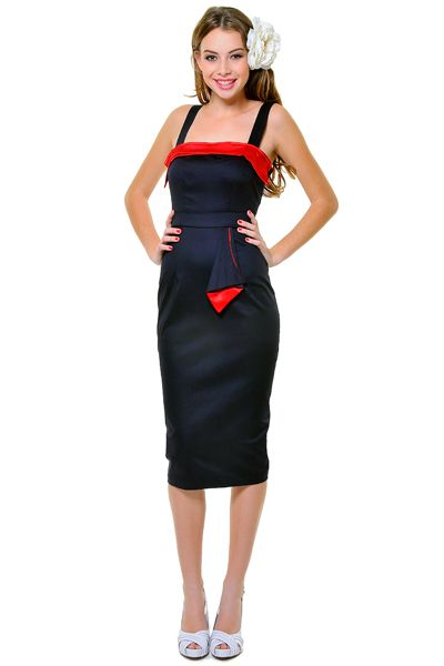 pic1: 1940 S, 50S Style, 50 Style, Bridesmaid Dresses, 1940S Style, Red Bombshells, Bombshells Wiggle, Navy Blue, Style Navy