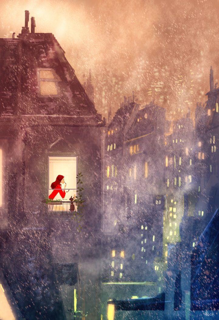 ILUSTRACIONES vibrantes Celebre la magia de la vida cotidiana '- My Modern Metropolis
