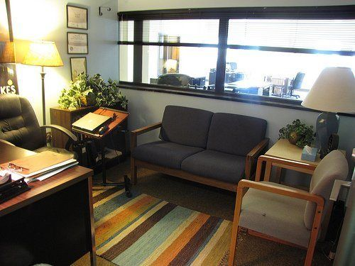 Making therapy offices therapeutic