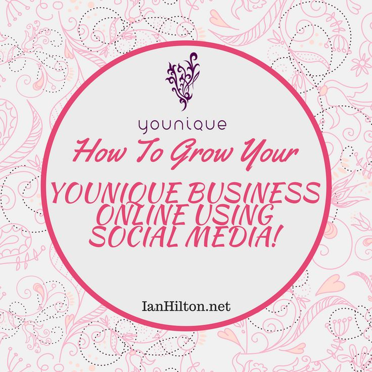 How To Grow Your Younique Business Online Using Social Media! #makeup #Younique #Fashion