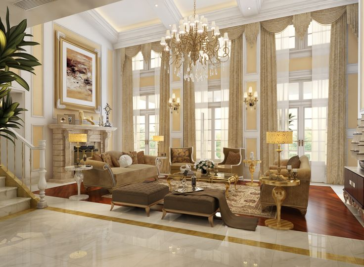 127 Luxury Living Room Design Ideas