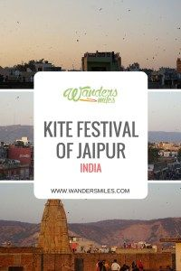 Kite Festival, Uttarrayan, in the Pink City of Jaipur, India. The Kite Festival is celebrated on the 14th January and marks the day when winter begins to turn into summer, according to the Hindi calendar. Travel blog by Wanders Miles.