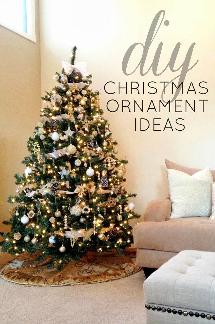 Good DIY Christmas Ornament Ideas...see How One Blogger Decorated Her Entire  Tree For