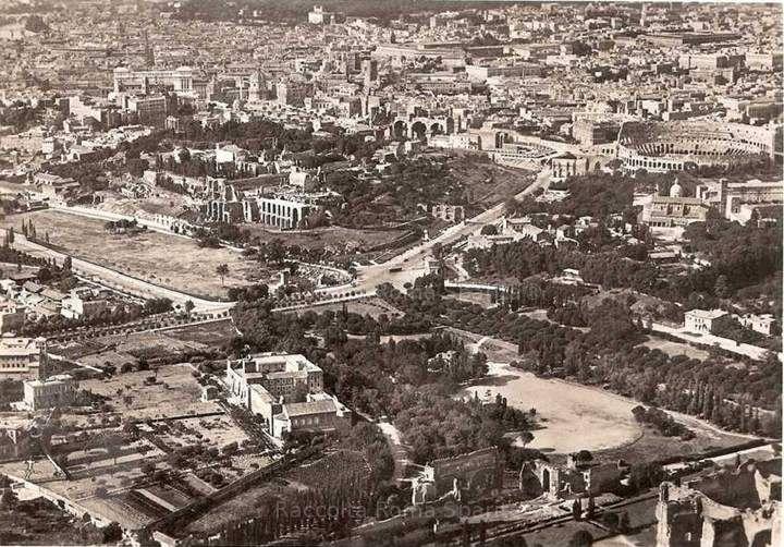 Roma Sparita - Il Circo Massimo, il Palatino e la Passeggiata Archeologica visti dall'alto