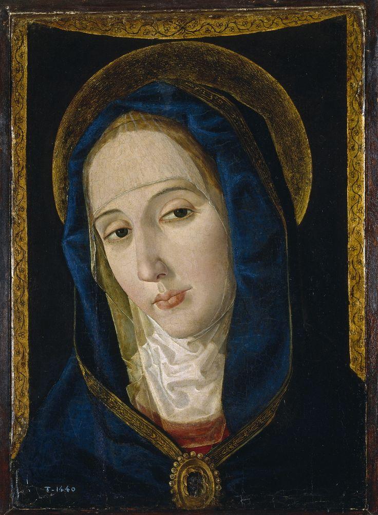 The Virgin of Sorrows / La Dolorosa // Paolo de San Leocadio, 1482-1484 // Virgin Mary / Virgen María