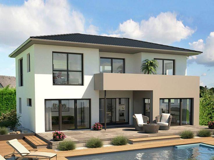 15 pins zu hausfassade streichen die man gesehen haben for Zweifamilienhaus modern grundriss