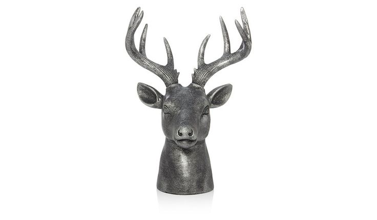George Home Silver Stag Head Ornament, read reviews and buy online at George at ASDA. Shop from our latest range in Home & Garden. Whether you've got a tradi...
