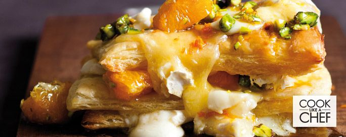 Oozing Camembert & Honey Pastry Stacks | Desserts & Baking | Recipes | Woolworths.co.za