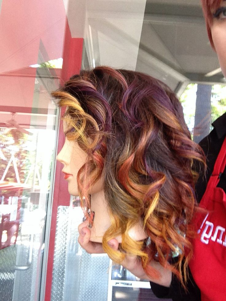 Pastel Colored Ombré by Ave.