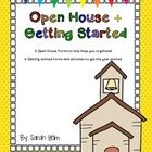5 Open House forms ( 7 pages total): *Open House sign in form *Check list for families to complete at Open House *Student Transportation informatio...
