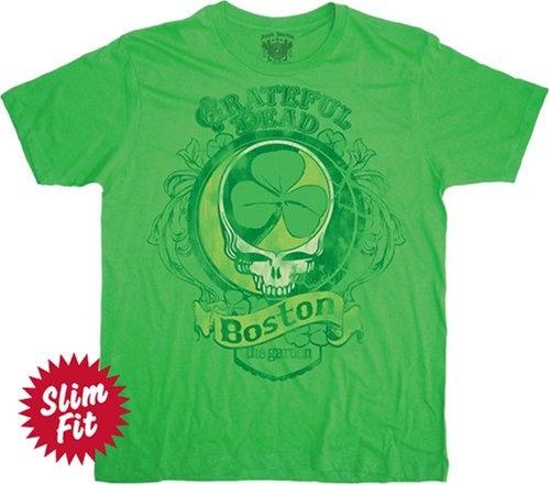 Grateful Dead Boston Green Adult Tee $17.95 - $18.15: Adult Tee, Boston 1977, Dead Boston, Stpatricksday Gratefuldead, Grateful Dead, 1977 Adult, T Shirts