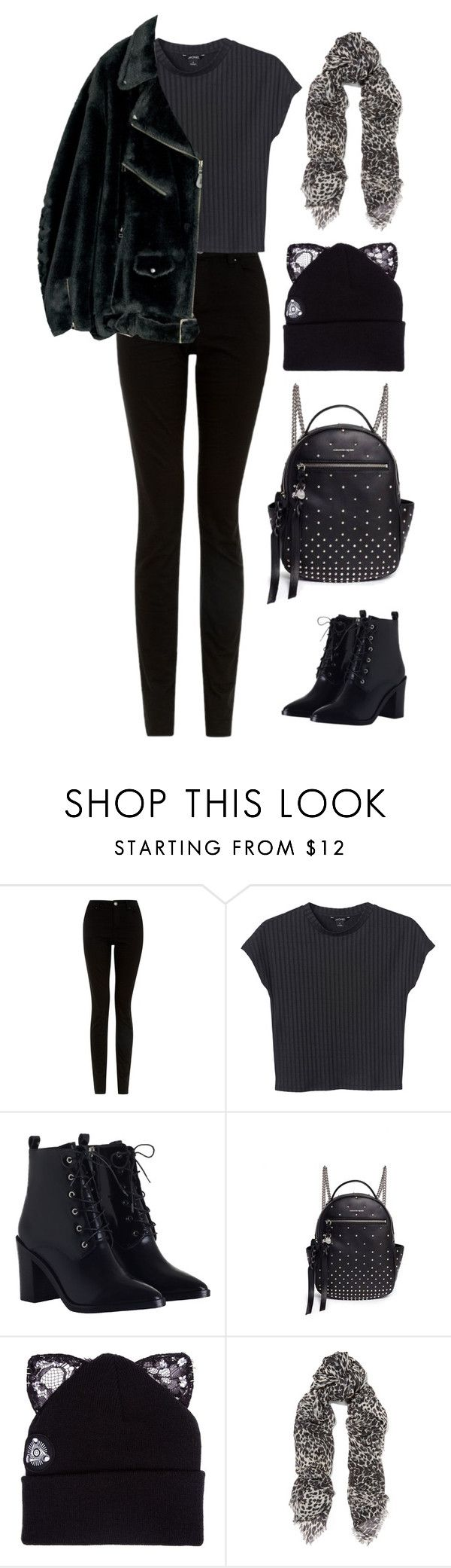 """""""Unbenannt #1625"""" by uniqueautumn ❤ liked on Polyvore featuring Monki, Zimmermann, Alexander McQueen, Silver Spoon Attire and Yves Saint Laurent"""