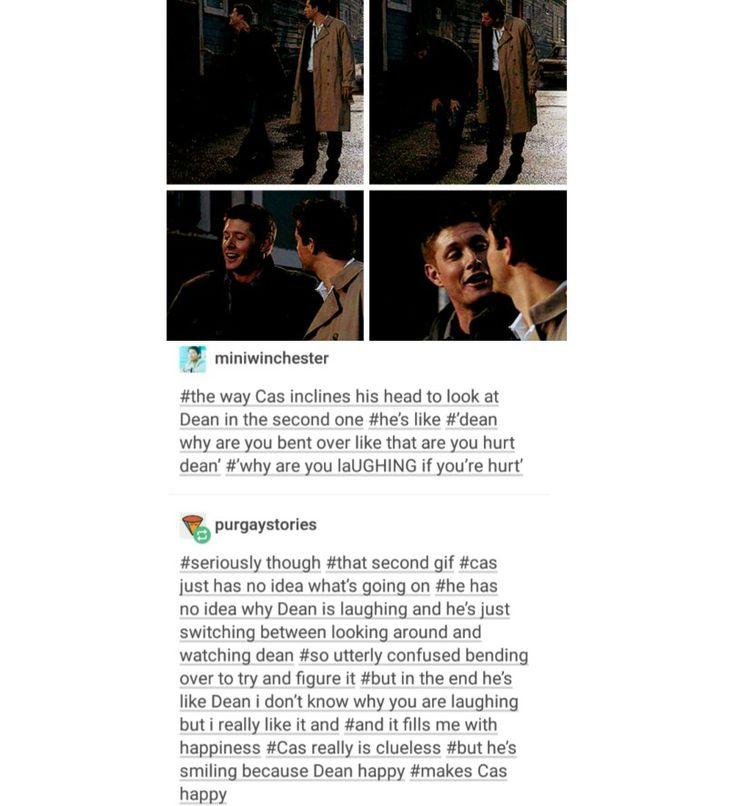 supernatural tumblr textpost destiel cockles dean winchester castiel cas