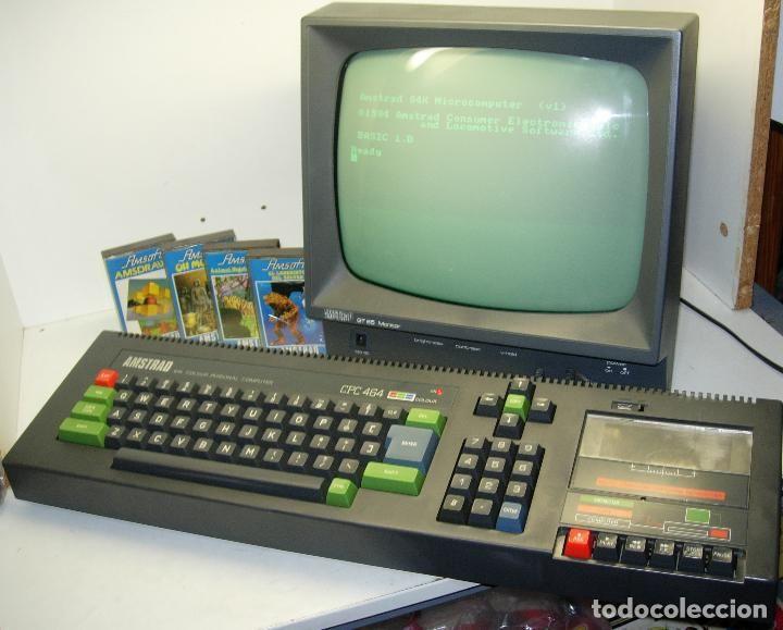 ordenador AMSTRAD CPC 464 CPC464 + juegos, con monitor, funcionando