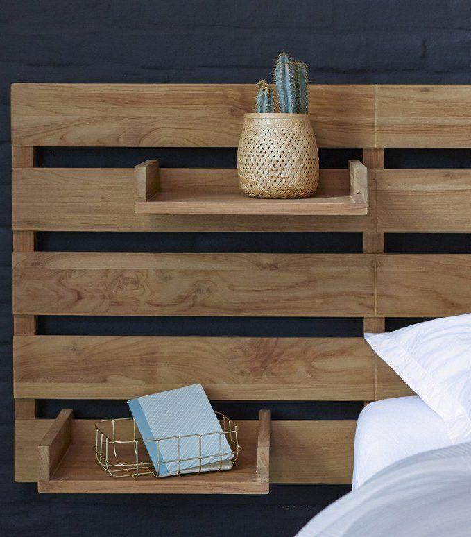 Où trouver une tête de lit avec rangement ?