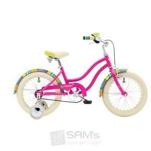 Electra-Lotus-Lily-1-Maedchen-Fahrrad-16-Zoll-Pink-Beachcruiser-Fahrrad-Kinder