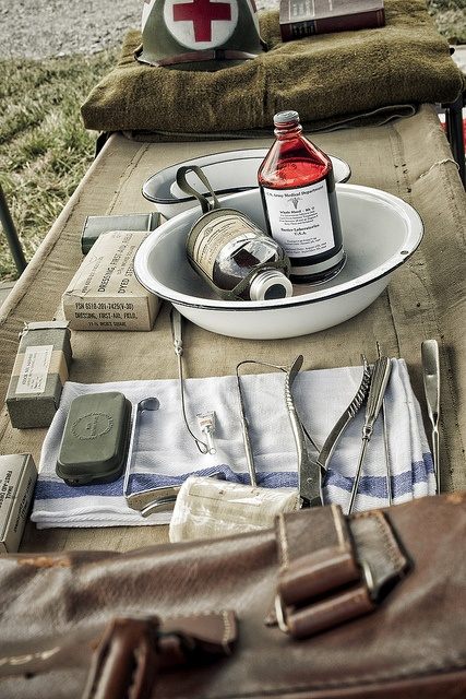 1942 Medic Supplies by Liston Photography, via Flickr