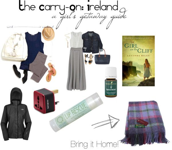 The Carry-On: A Girl's Getaway Guide of what to pack for Ireland