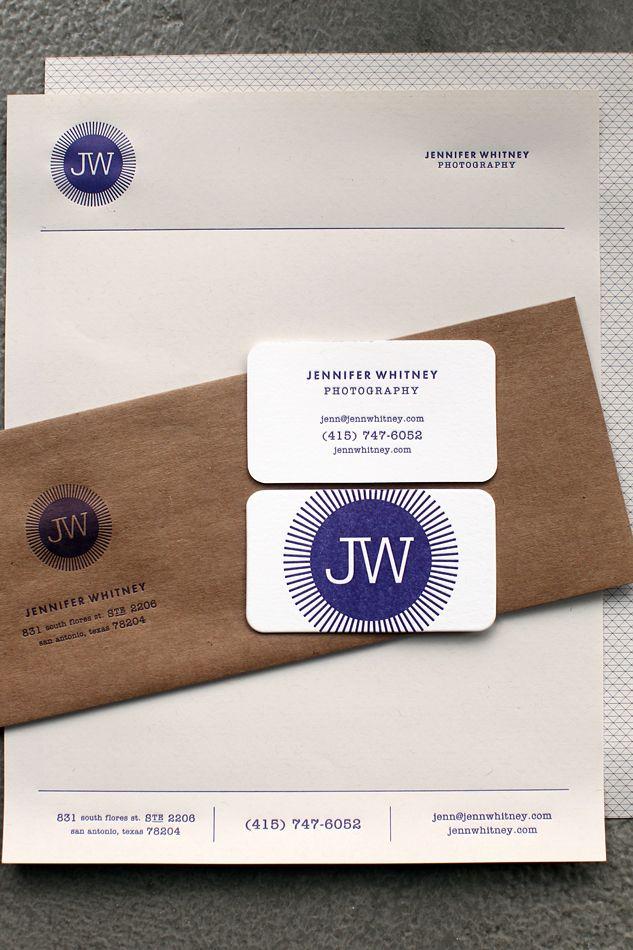 Eye Catching Brand Identity for Photographer Jennifer Whitney | No Plastic Sleeves
