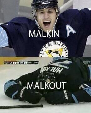Name Puns: Evgeni Malkin